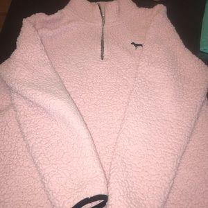 "Pink ""fluffy"" sweatshirt"